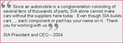 Subaru of Indiana Customer Quote